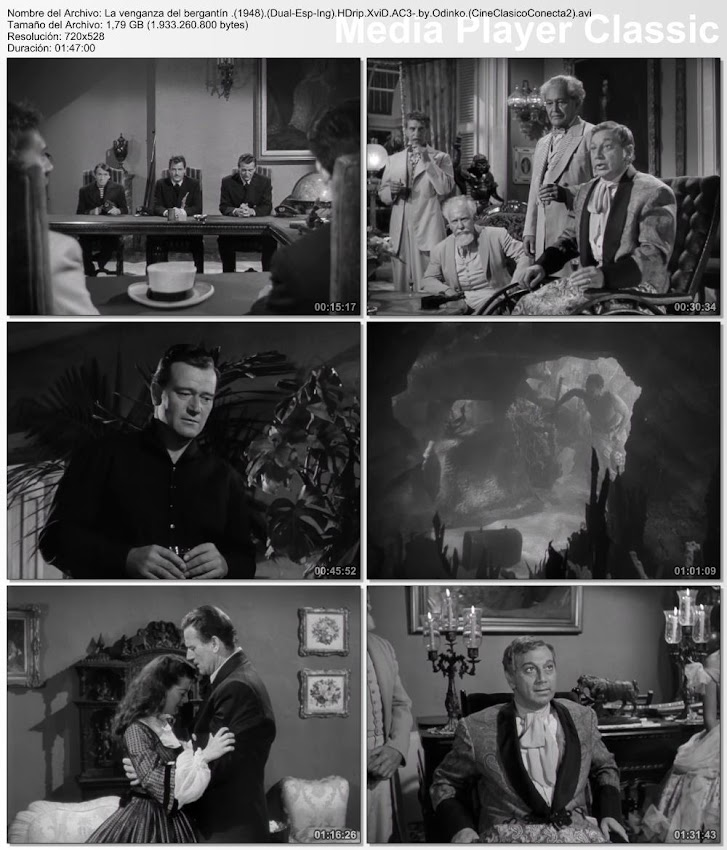Imagenes: La venganza del bergantín | 1948 | Wake of the Red Witch