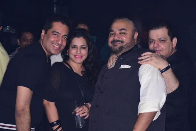 (L-R) Rahul Khanna, Aparna Bahl, JJ Valaya, Rohit Gandhi