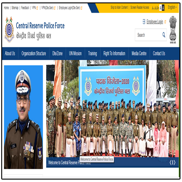 CRPF Recruitment 2020 || Apply Online SI, ASI, Constable For 789 Posts