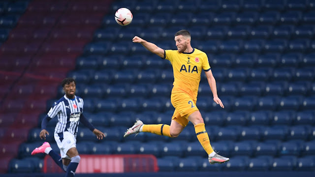 Tottenham defender Matt Doherty