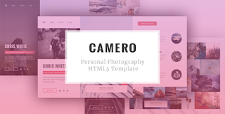 CAMERO - Personal Photography HTML5 Template