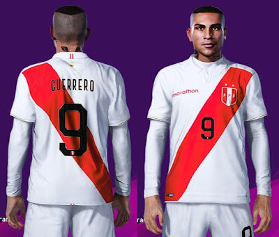 PES 2020 Faces Paolo Guerrero