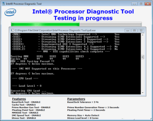 Intel Processor Diagnostic Tool 4.1.0.28