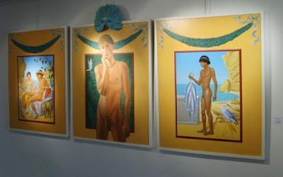 Dionysos, Ariane, pêcheur Akrotiri
