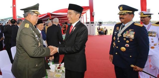 Naikkan Tunjangan Hingga Kredit Rumah, Ini Janji Presiden Jokowi ke TNI