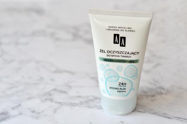 żel oczyszczający do mycia twarzy