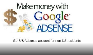 Tips untuk mendaftar Akun Adsense US  bagi warga non-AS