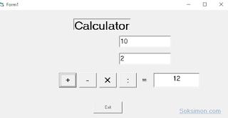 Cara Membuat Aplikasi Kalkulator Visual Basic Mudah dan Cepat