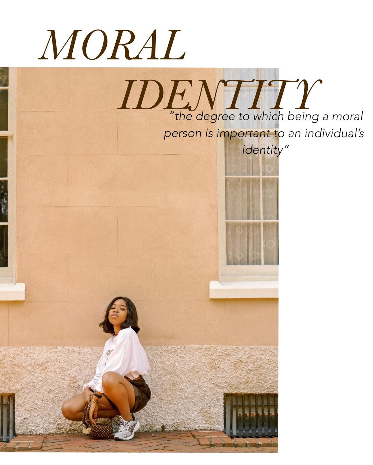 STRIKING A BALANCE BETWEEN MORAL IDENTITY AND MORAL ACTION