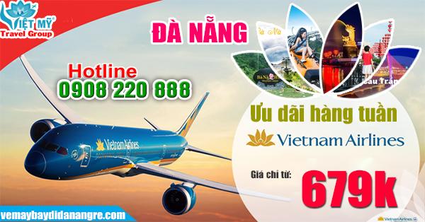 Vietnam Airlines khuyến mãi đi Đà Nẵng giá chỉ từ 679K