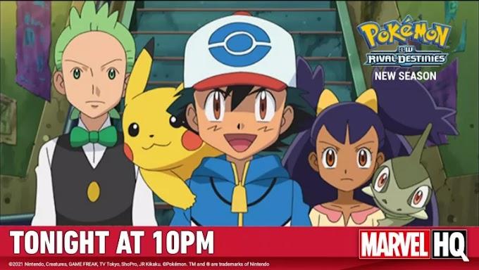 Pokemon Season 15 BW Rival Destinies Hindi Episodes Download HD   Marvel HQ   Hungama TV