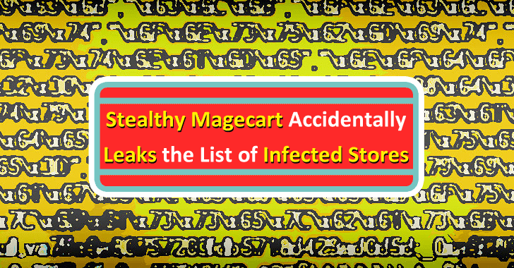Stealthy Magecart Attack