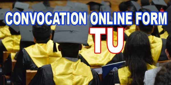 Fill Convocation from online