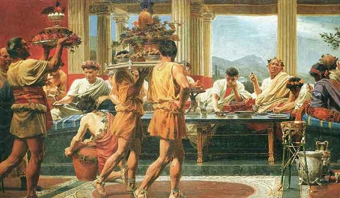 Penduduk Romawi Sengaja Muntah Supaya Bisa Kembali Makan