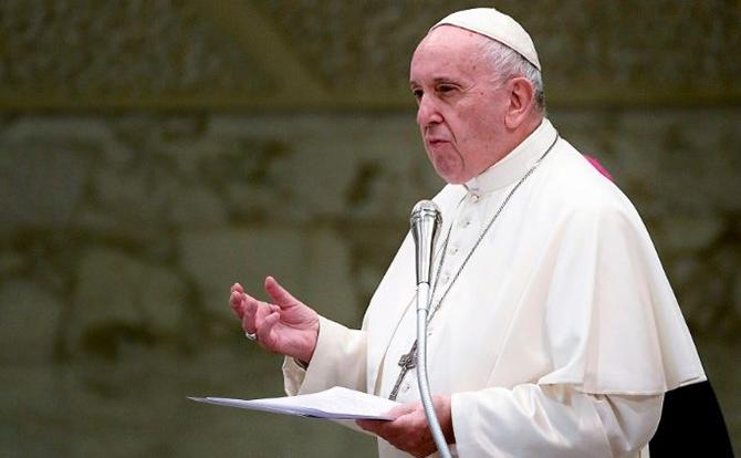 البابا فرانسيس يعرب عن حزنه بشأن ايا صوفيا