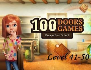 Jawaban 100 Doors Games Escape From School Level 41-50