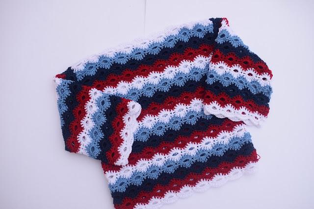 5 - Crochet Imagenes Jersey marinero con 4 rectangulos a crochet y ganchillo por Majovel crochet