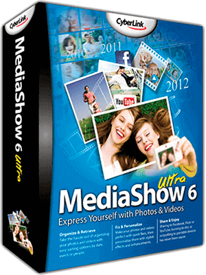 CyberLink MediaShow Ultra box