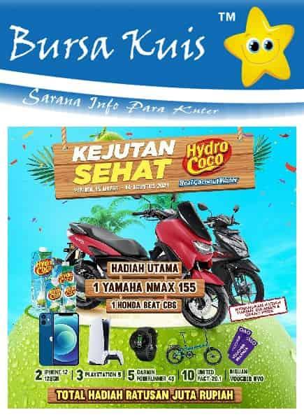Kuis Online Promo Hydrococo Terbaru Berhadiah Sepeda Motor