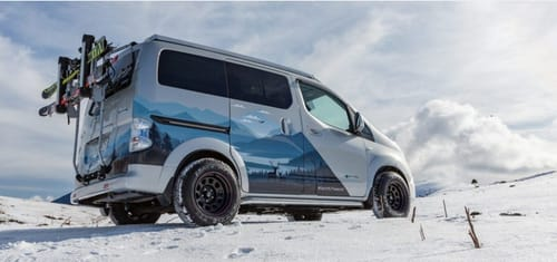 Nissan launches the e-NV200 winter electric vehicle