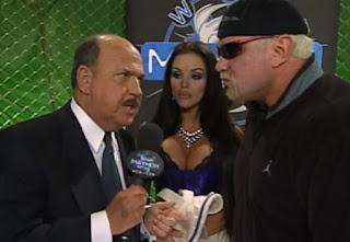 WCW Mayhem 2000 - Mean Gene interviews Steiner and Midajah