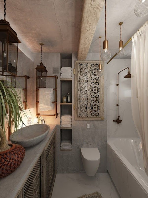 Design Of Attached Bathroom