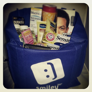 Win Amazon Gift Card and a Tote Full of Samples at Smiley360