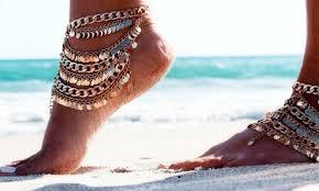 été 2017 - tendance été 2017 - chaine de cheville - bracelet de cheville - cheville - fashion - tendance été 2017