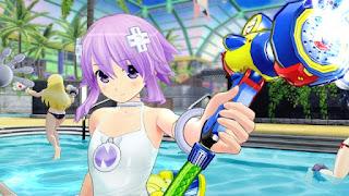 "Neptune se une a ""Senran Kagura Peach Beach Splash""."