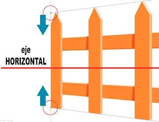 Reflejo horizontal de la Perspectiva 1