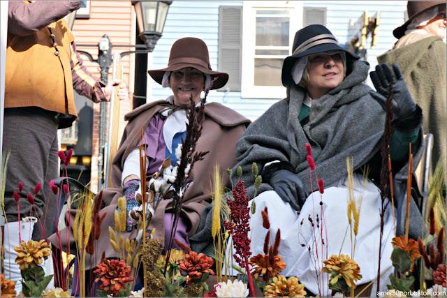 Desfile en Acción de Gracias en Plymouth