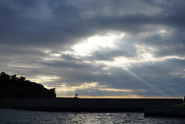三崎港 渡し船からの眺め