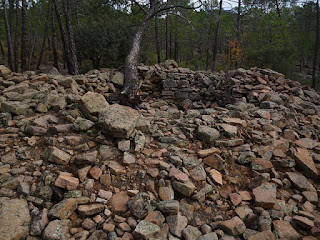 Túmulo. Necrópolis de Las Hoyas del Castillo