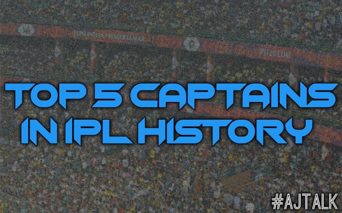 Top 5 captains in IPL history