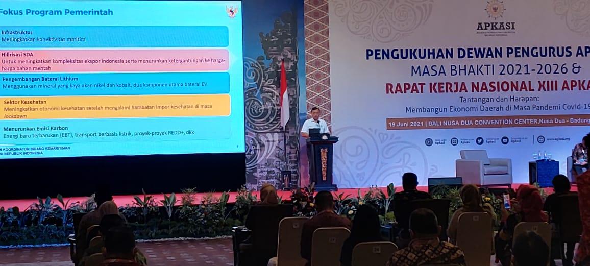 Mendagri Mengukuhkan Darma Wijaya Sebagai Koordinator APKASI Wilayah Sumut