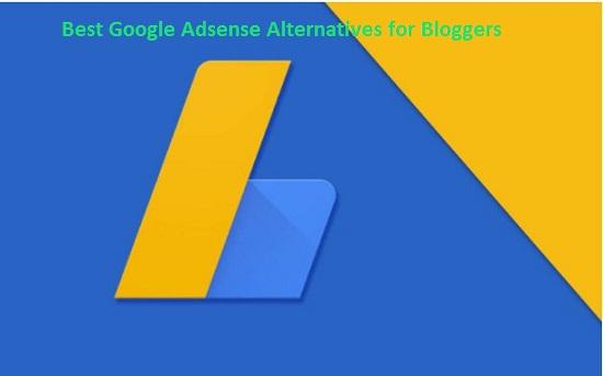 Best Google Adsense alternatives in Pakistan for Blogger