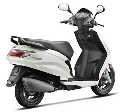 Hero Dash 110cc Scooter white color upcoming