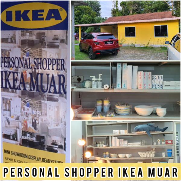 Beli Barang IKEA Guna Personal Shopper IKEA Johor