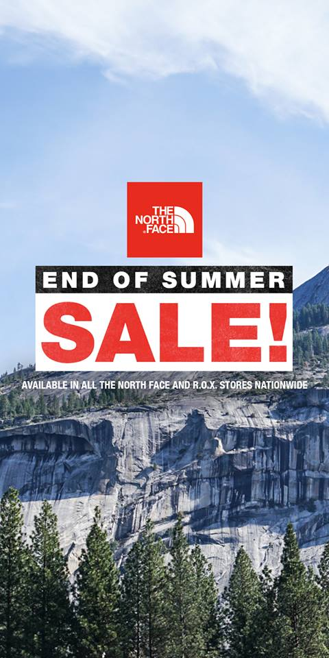 b926e88c3 Manila Shopper: The North Face End of Season SALE: July 2018