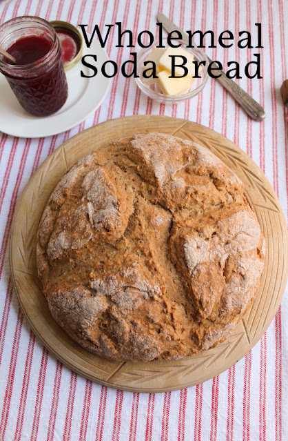 Food Lust People Love: Wholemeal soda bread is simple to make, quick to bake and toasts up like a dream. It's perfect for sandwiches or just smeared with butter and jam.