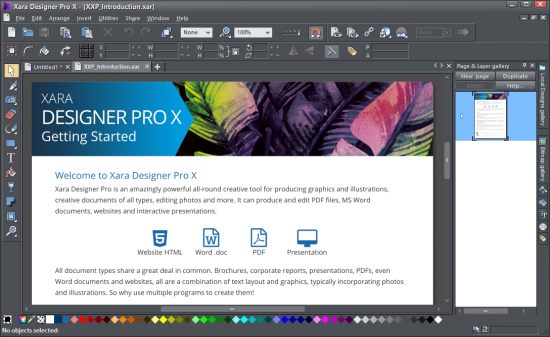 Screenshot Xara Designer Pro X 17.0.0.58732 Full Version