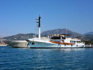 A Marina d'Arechi la barca più amata da Gianni Agnelli