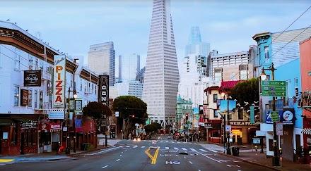 San Francisco Shut Down: COVID-19 Quarantine   Mit der Drohne durch die leeren Straßen von San Francisco
