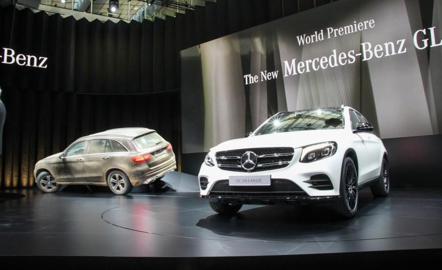 Mercedes Benz GLC ra mắt
