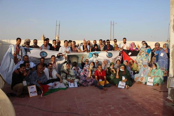تجمع المدافعين الصحراويين عن حقوق الإنسان يختتم مؤتمره بتجديد مكتبه التنفيذي.