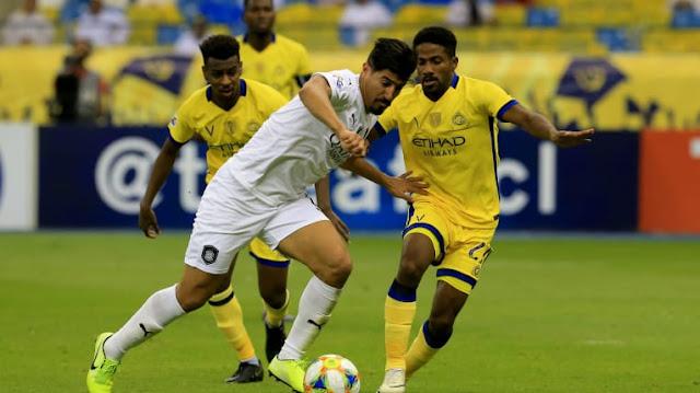 مشاهدة مباراة النصر السعودي والسد القطري بث مباشر