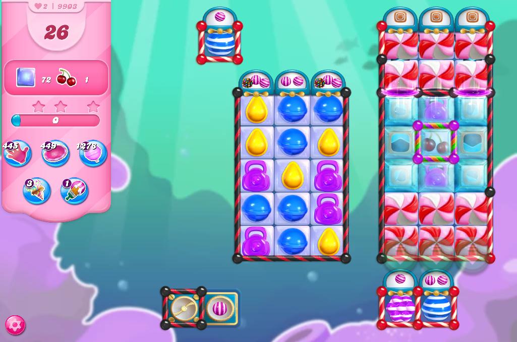 Candy Crush Saga level 9903