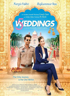 5 Weddings (2018) Official Poster