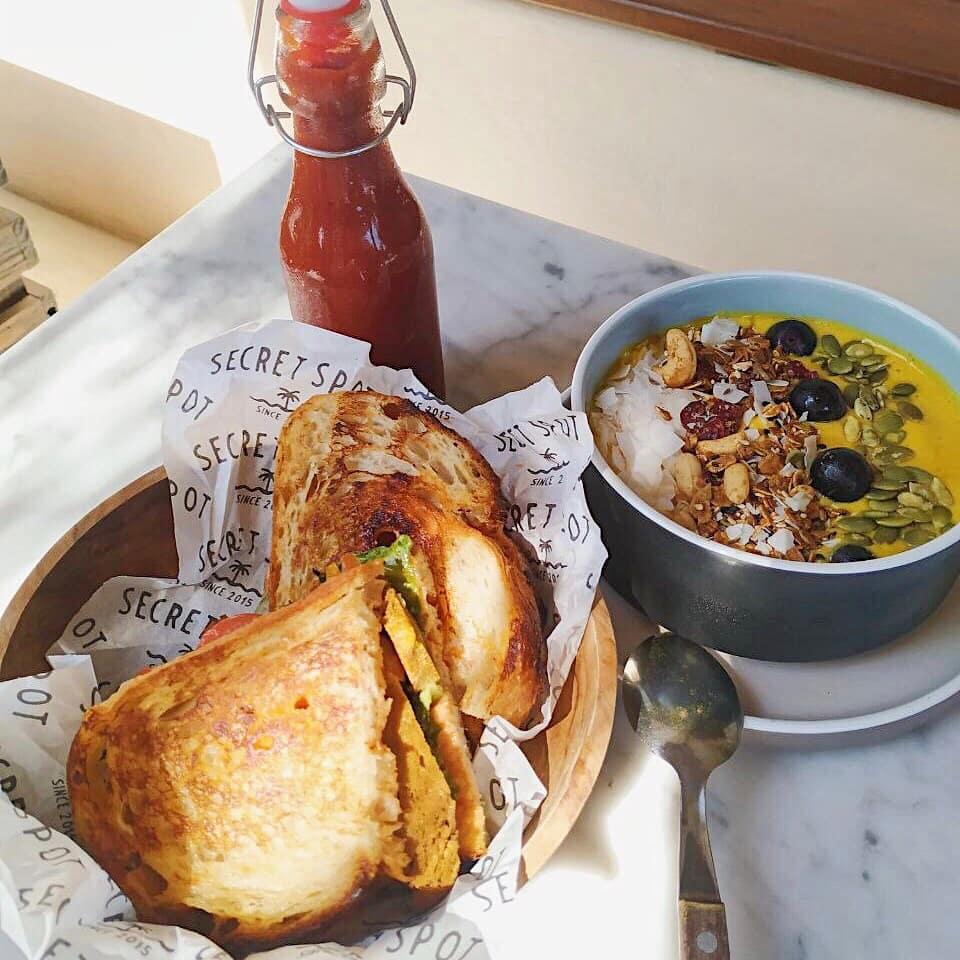 secret spot bali menu
